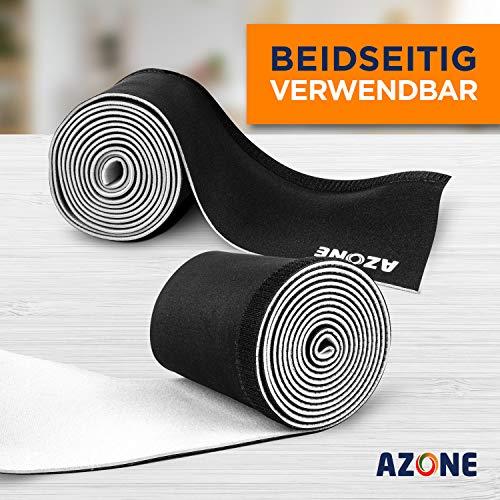 AZONE® Kabelschlauch [13.5] cm x [3] m – Premium Neopren Kabelkanal – Einstellbarer Durchmesser für Kabelmanagement, Kabelschutz oder als Kabelorganizer