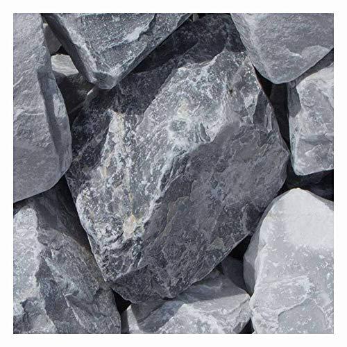 zierkiesundsplitt Ice Blue Gabionensteine Bruchsteine 500kg Big Bag 40-60mm und 60-120mm (60-120mm)