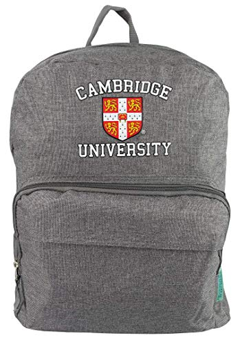 Licensed Cambridge University Rucksack Backpack School College University Multi Pockets