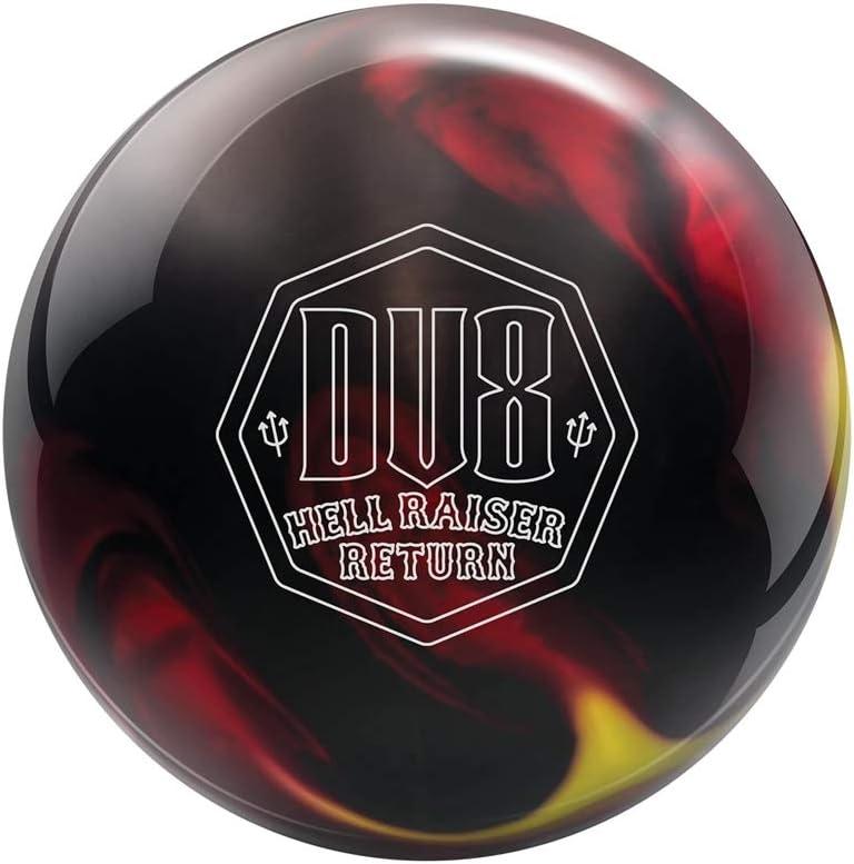 DV8 Hell Raiser Surprise price Return Bowling Yellow Red Black Time sale - Ball