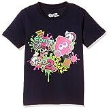 [スプラトゥーン] Tシャツ 半袖 KDS キッズ Splatoon2 スプラトゥーン2 ハイカラストリート 22823714 ネイビー 130