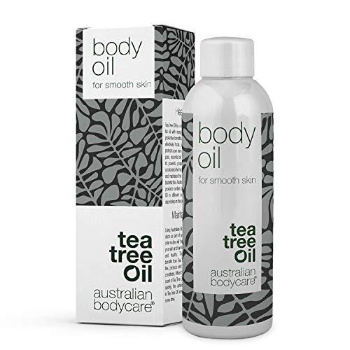 Australian Bodycare Body Oil 80ml | Olio corpo al Tea Tree | Migliora l'aspetto di smagliature, cicatrici, pelle a buccia d'arancia (cellulite), macchie pigmentate e tono cutaneo non uniforme
