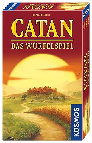 Catan - Das Würfelspiel: Mitbring-Spiel für 1 - 4 Spieler