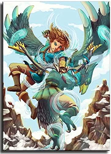 EDZXC-Anime La Leyenda de Zelda,Niños Puzzles 1000 Piezas,Adecuado Forintelectual Desarrollo de niños...