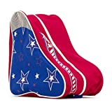 Sfr Skates SFR Star Skate Bag Sac pour Patins à roulettes Unisexe Adulte, Mixte, Bleu/Rouge, Taille Unique