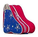 Sfr Skates SFR Star Skate Bag Bag for Roller Skates Unisex Adult, Mixed, Blue / Red, One Size