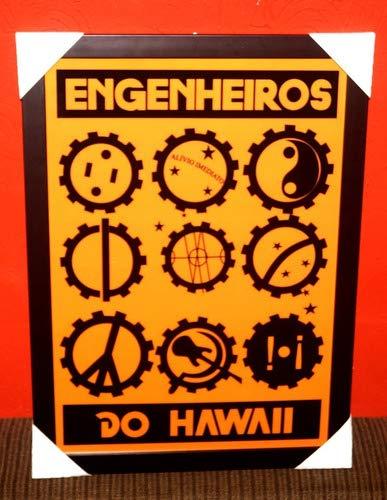 Quadro Banda Rock Engenheiros Do Hawaii Moldura 42x29cm