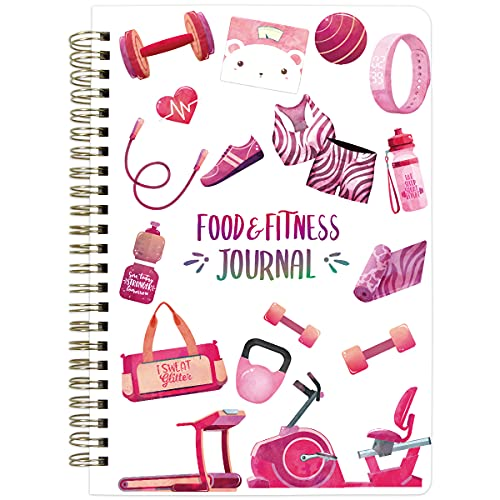 Food and Fitness Journal Diary Work…