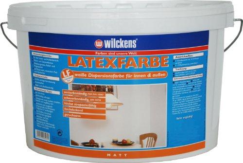 Wilckens Latexfarbe matt, 5 L, weiß 13490100090