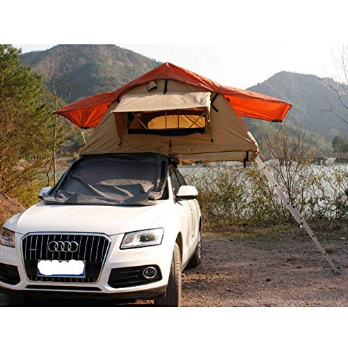 Xljh 2019 factory 4 * 4 off-road truck pop-up camping tent car fiberglass car roof top tent