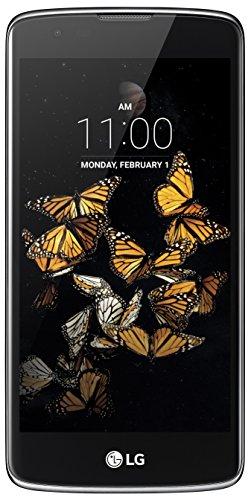 LG K8 Smartphone (12,7 cm (5 Zoll) Touch-Bildschirm, 8 GB interner Speicher, Android 6.0) schwarz/blau