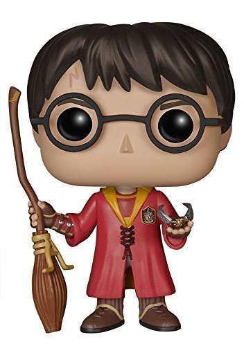 Funko POP! Harry Potter: Harry Potter con el traje Quidditch