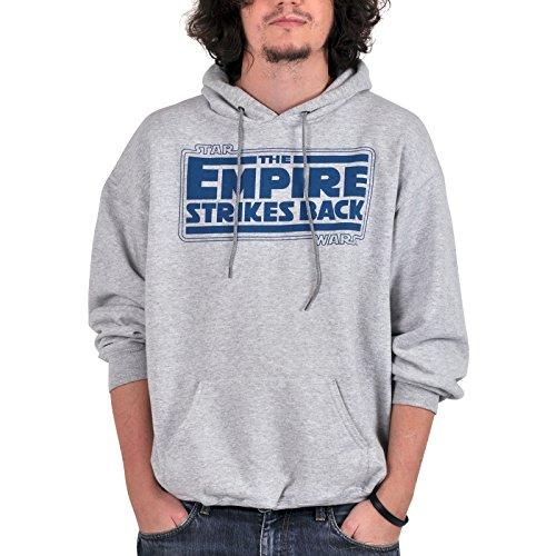 Star Wars Hoodie - Empire Contre-Attaque, Empire Strikes Retour à capuche - S
