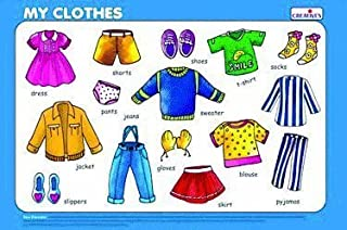 Creative Educational Early Years My Clothes Play and Learn