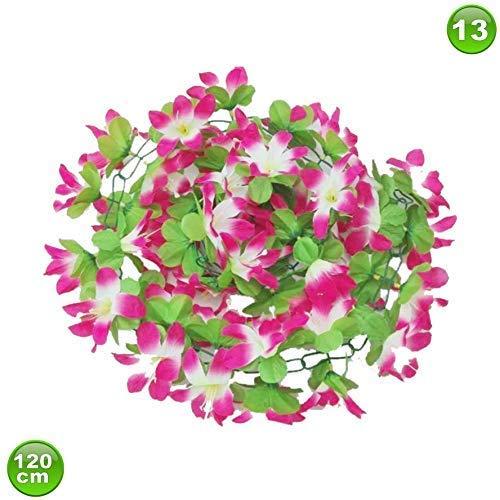 maxxi4you Fahrradgirlande Blumengirlande Violetttöne 120 cm Design 13