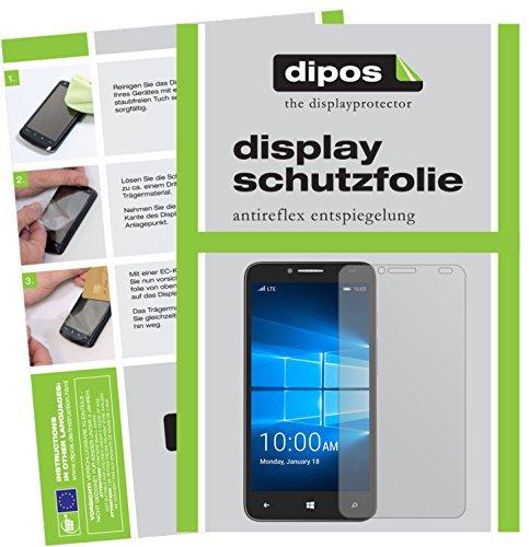 dipos I 6X Schutzfolie matt kompatibel mit Alcatel Idol 4 Pro Folie Bildschirmschutzfolie