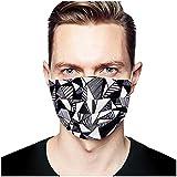 Pack de 50 Bufandas para Adultos Unisex para Adultos, Elementos de Tinte de Corbata, diseño Industrial de 3 Capas, Protecciones faciales