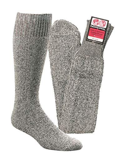 """socksPur Original Bergbau- Arbeitssocken """"Püttsocken"""" 5er PACK (Art.Nr.6730, Gr.one size, graumeliert)"""