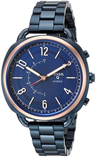 Fossil Orologio Smartwatch Microcontrollore Donna con Cinturino in Acciaio Inox FTW1203