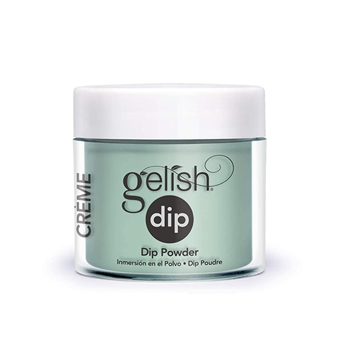 シェル急速な船員Harmony Gelish - Acrylic Dip Powder - A Mint of Spring - 23g / 0.8oz