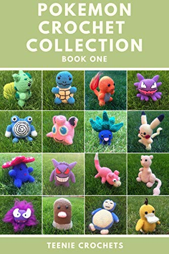 Pokemon Inspired Crochet Patterns Book One: Written Crochet Patterns (English Edition)