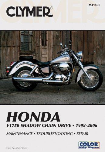 Honda VT750 Shadow Chain Drive Motorcycle (1998-2006) Service Repair Manual