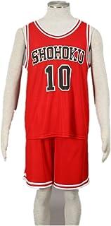 2f351982741 Love Anime Cosplay Costume Uniform-Sakura Basketball Shohoku Red Jersey No. 10