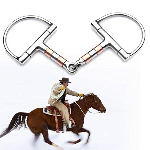 Bluelover Bt0401 roestvrijstalen ring voor paarden, 5 stuks