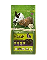 Naturally high in beneficial fibre (39%) Helps prevent selective feeding Contains a natural prebiotic for digestive health Unique all natural weight control formula helps reduce and then stabilise your rabbit's weight at the correct level Natural ant...