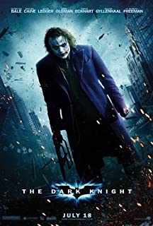 The Dark Knight Poster Movie (27 x 40 Inches - 69cm x 102cm) (2008) (Style G)