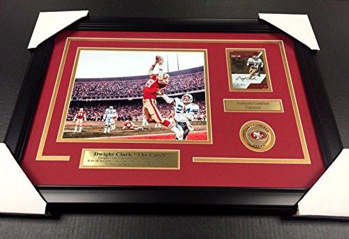 Dwight Clark San Francisco 49ers NFL Framed 8x10 Photograph Catch
