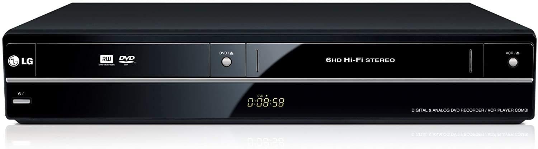 LG RCT699H - Grabador de DVD con reproductor de vídeo VHS (Dolby ...