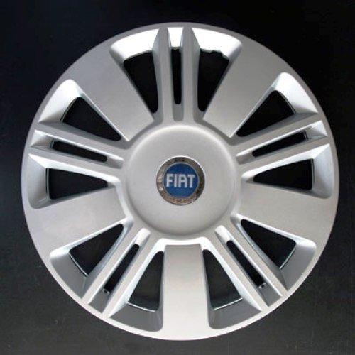 Jeu de 4 Enjoliveurs Neuf pour Fiat Sedici avec Roues Originales en 16 Pouces