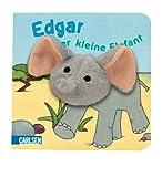 Fingerpuppen-Buch: Edgar, der kleine Elefant