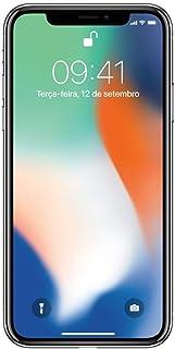iphone X Apple 64GB Prata Tela Super Retina HD Oled 5.8 Ios 11 4G, Câmeras de 12 MP Mqac2Bz/A