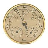 MagiDeal Medidor de Presión de Aire Termómetro Higrómetro Barómetro Pronóstico Del Tiempo