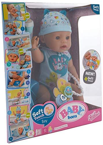 Zapf Baby Born 824375 Soft Touch-Boy Nurturing Dolls