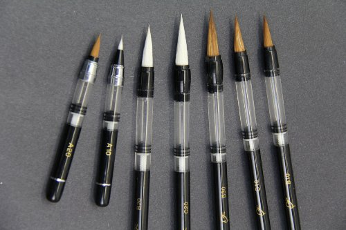 7 Piston Filler Waterbrush & Water Brush Fountain Pens Value...