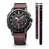 TR-MB7005(ブラック) TRUME ソーラー 腕時計(メンズ)