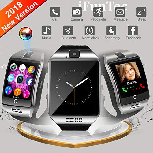 Orologio Intelligente, iFuntec Smartwatch con Fotocamera Orologio Intelligente