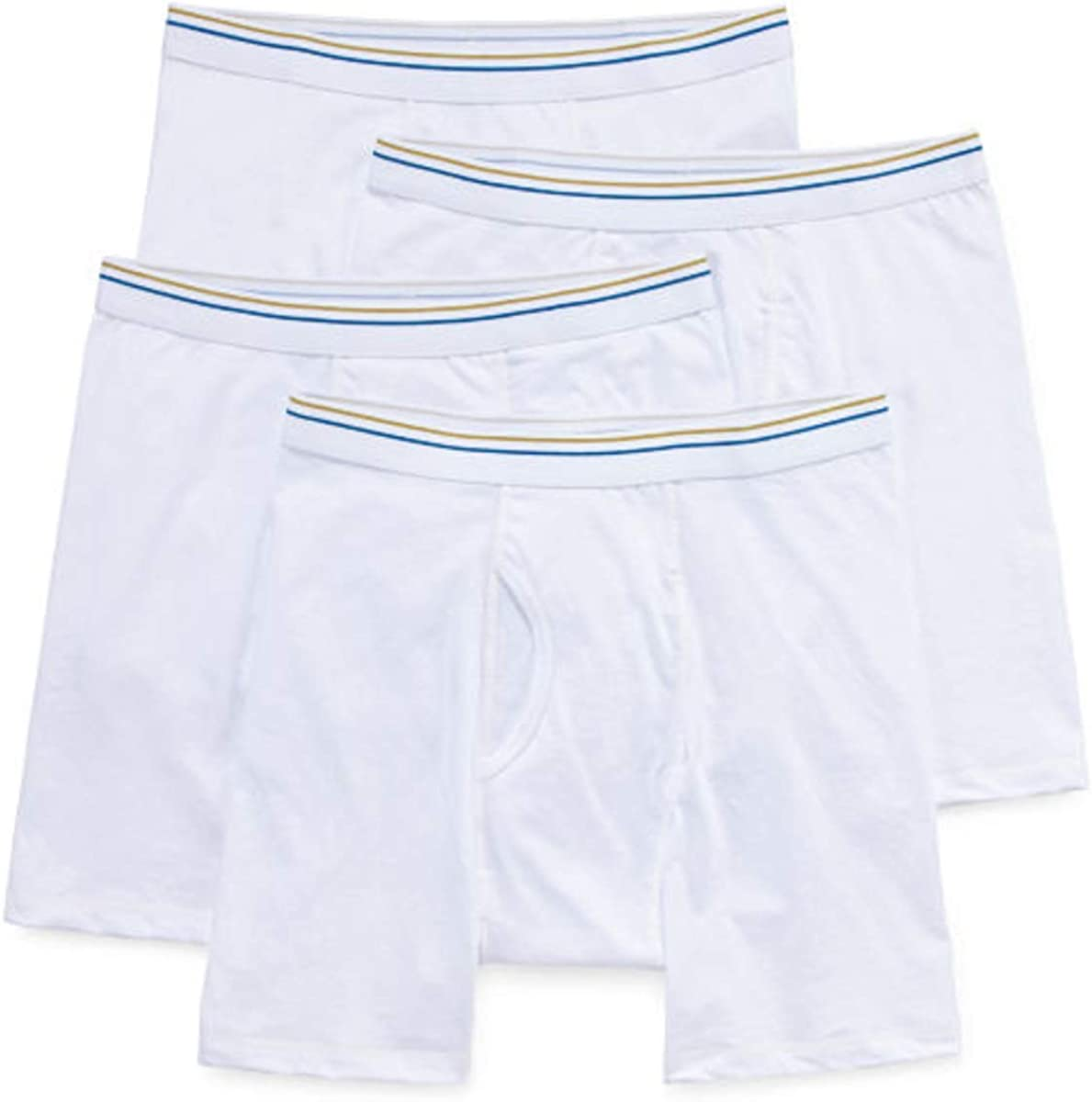 Stafford 4 Pair Dry and Cool Blended Men's Boxer Briefs