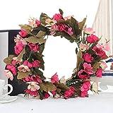 VNKLUCF Seda Artificial Rosa Corona de Margaritas decoración de la Escena de la Boda Corona de Flores Falsas Tocado de Vacaciones Junto al mar Regalo de San Valentín