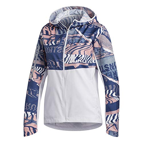 adidas Own The Run Jkt, Giacca Donna, Toqgri/Rosglo/Indtec, XS