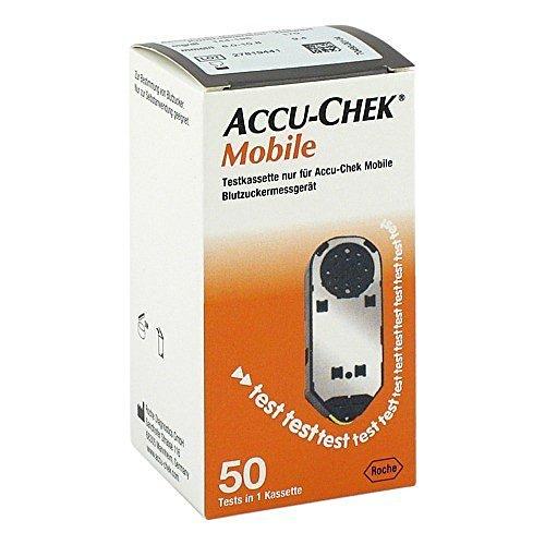 ACCU CHEK Mobile Testkassette, 50 St