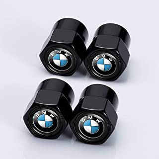 Kaolele 4 Pcs Metal Car Wheel Tire Valve Stem Caps for BMW X1 X3 M3 M5 X1 X5 X6 Z4 3 5 7Series Styling Decoration Accessories …