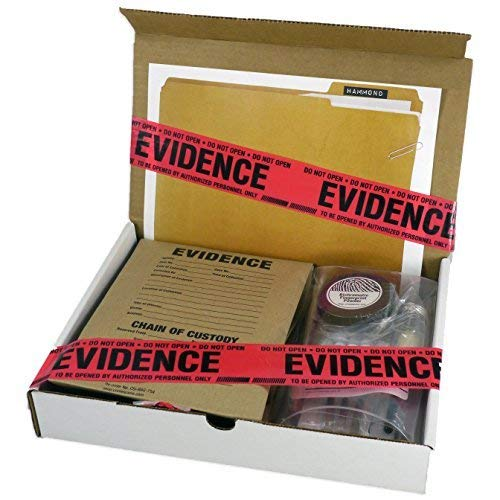 Crime Scene Forensic Science Kit: The Missy Hammond Case