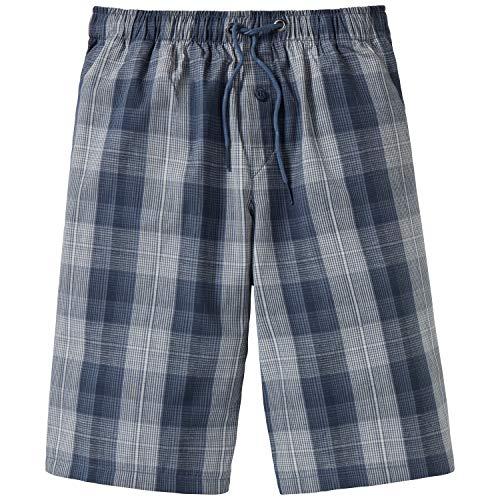 Schiesser Jungen Mix & Relax Longboxer Schlafanzughose, Blau (Jeansblau 816), 164 (Herstellergröße: M)