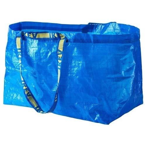 Ikea Frakta Tragetasche, blau – ideal für den Einsatz im Freien und zur Aufbewahrung