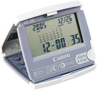 Canon クロック電卓8桁(時計・カレンダー・タイマー多機能タイプ) CC-55 HWB 9061A001AA