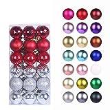 Christmas Balls Ornaments for Xmas Tree -...